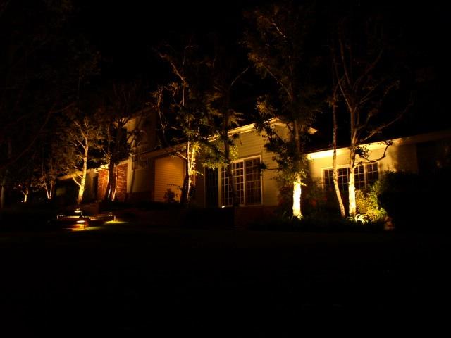 camarillo lighting dramatic outdoor lighting